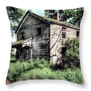 Keep Out 2 Hdr  Throw Pillow