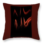 Keep The Fire Burning Throw Pillow