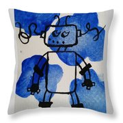 Keep Your Head Out Of The Sky Throw Pillow