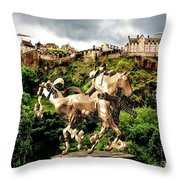 Keeper Of The Castle 2 Throw Pillow