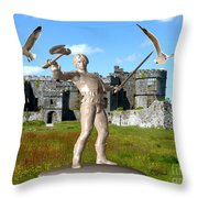Keeper Of The Castle 4 Throw Pillow