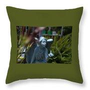Keeper Of The Gardens Throw Pillow