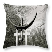 Keeper Of The Grove Throw Pillow