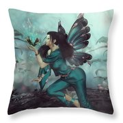 Keeper Of The Key Throw Pillow