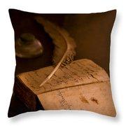 Keepers Journal Throw Pillow