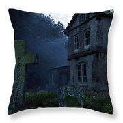 Keepers Of The Manor  Throw Pillow