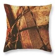 Keepers Of The Oath Throw Pillow