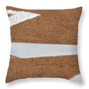Keeping A Clean House Throw Pillow