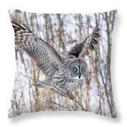 Keeping Balance Throw Pillow