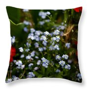 Keeping Throw Pillow