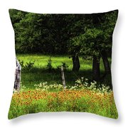 Keeping Out The Wild Throw Pillow