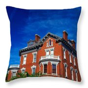 Kehoe House Savannah Georgia  Throw Pillow