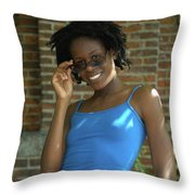 Keisha Throw Pillow