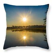Kejimkujik Dawn Throw Pillow