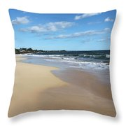 Kekaha Beach Throw Pillow