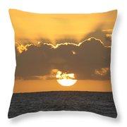 Kekaha Sunset Throw Pillow