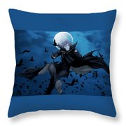 Kekkaishi Throw Pillow