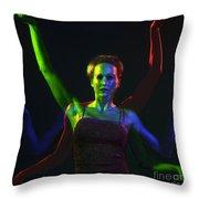 Kelliergb-10 Throw Pillow