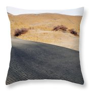 Kelso Dunes Landscape Throw Pillow