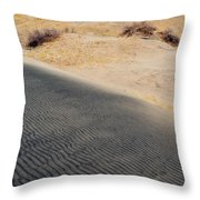 Kelso Dunes Portrait Throw Pillow