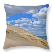 Kelso Sand Dune Field Throw Pillow