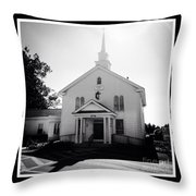 Kemptown Methodist Church Throw Pillow