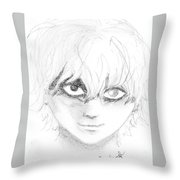 Ken Kaneki Throw Pillow