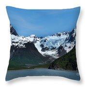 Kenai Fjords National Park Alaska Throw Pillow
