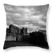 Kenilworth Castle 2 Throw Pillow
