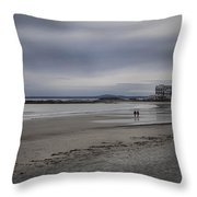 Kennebunkport Maine And Colonial Hotel Throw Pillow