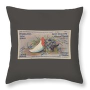 Kennedy And Co. Patent Remedy #2 Throw Pillow