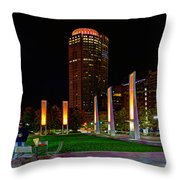 Kennedy Greenway 2637 Throw Pillow