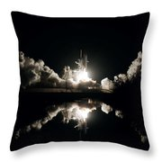 Kennedy Space Center, United States By Nasa Throw Pillow