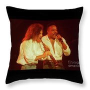 Kenny G-peabo Bryson-95-1376 Throw Pillow