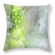 Kensho- Abstract Art By Linda Woods Throw Pillow