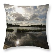 Kensington Clouds Throw Pillow