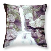 Kent Falls 3 Throw Pillow