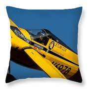 Kent Jackson In Once More, Friday Morning. 16x9 Aspect Signature Edition Throw Pillow