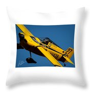 Kent Jackson In Once More, Friday Morning. 5x7 Aspect Signature Edition  Throw Pillow