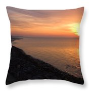 Kentish Sunset Throw Pillow