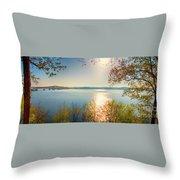 Kentucky Lake Throw Pillow