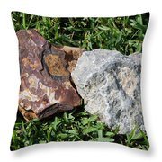 Kentucky Meets New Mexico In Florida Throw Pillow