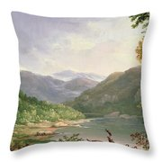 Kentucky River Throw Pillow