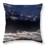 Kentucky Sunset Throw Pillow by John Parry