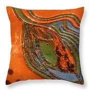 Kernel - Tile Throw Pillow