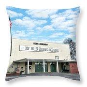 Kerr Building Throw Pillow