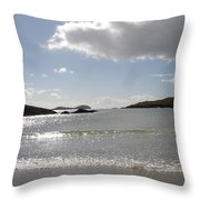 Kerry Beach Throw Pillow