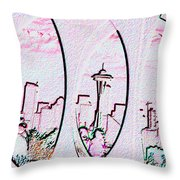 Kerry Needle 2 Throw Pillow