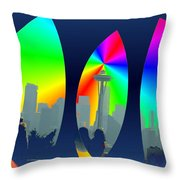 Kerry Needle 3 Throw Pillow