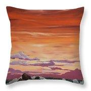 Kerry Sunset Throw Pillow